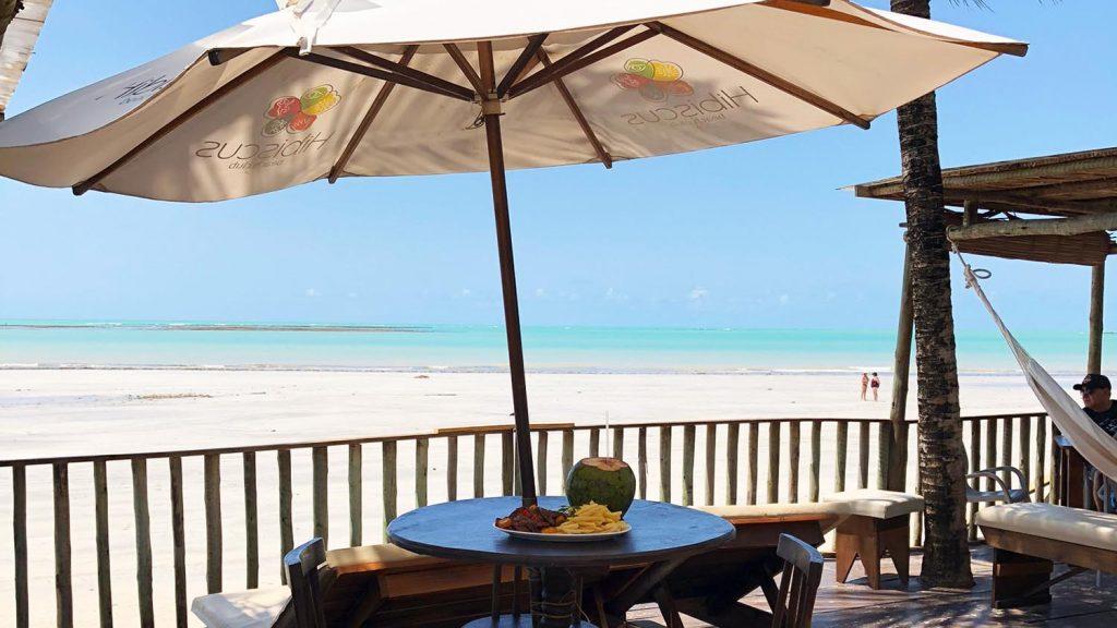 Melhores barracas de praia em Maceió e região: Hibiscus